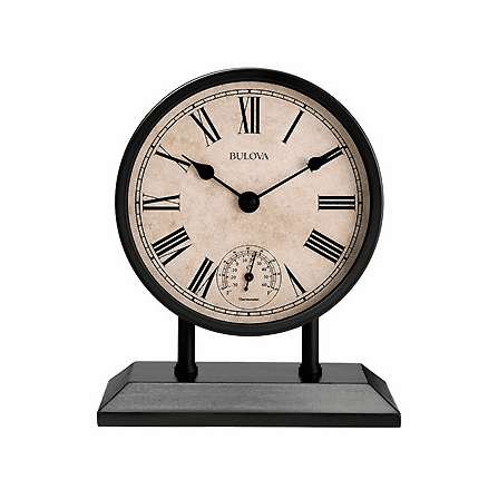 Plymouth Tabletop Clock By Bulova