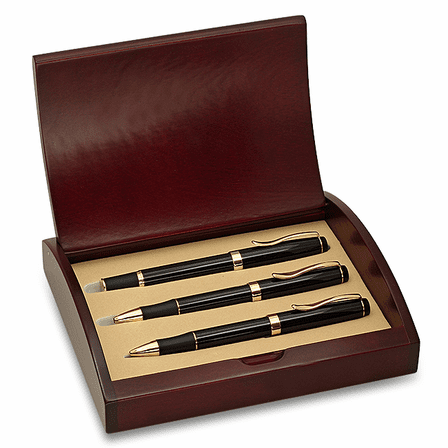 Police Badge Pen & Pencil Gift Set
