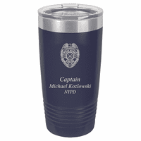 Police Officer's Personalized 20 Ounce Polar Camel Tumbler