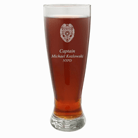 Police Officer's Personalized 22 Ounce Grand Pilsner Glass