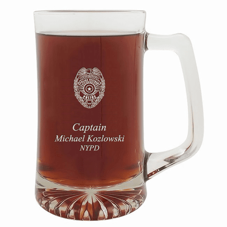 Police Officer's Personalized 25 Ounce Sports Mug
