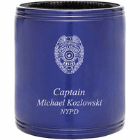 Police Officer's Personalized Insulated Can Holder