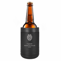 Police Shield Personalized Insulated Can & Bottle Holder