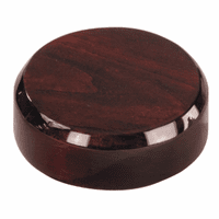 Polished Rosewood Sounding Board for Gavel