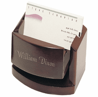Pop-Up Business Card Box With Picture Frame