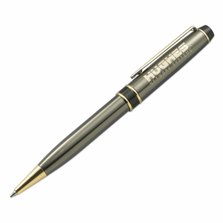 Power Collection Gunmetal & Brass Ballpoint Pen