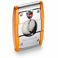 Precisione Stainless Steel Guillotine Cigar Cutter by Lamborghini - Discontinued