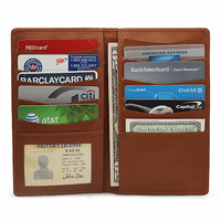 Premium Leather Credit Card Holder & Wallet