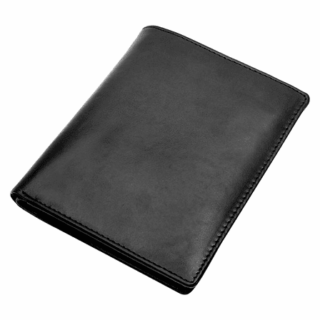 Premium Leather Large Men's Bifold Wallet