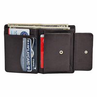 Premium Leather Men's Change Pouch Wallet