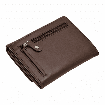 Premium Leather Snap Closing Lady's Wallet