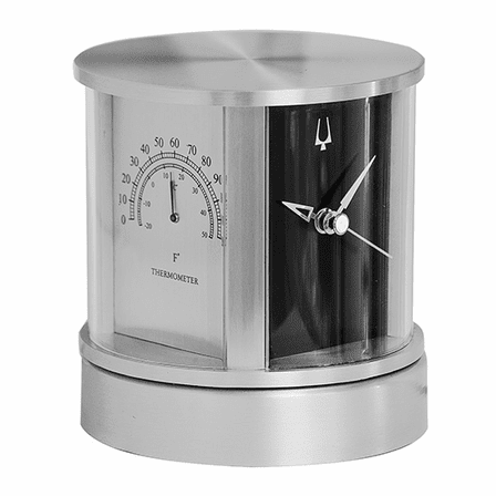 President Desktop Clock By Bulova - Discontinued