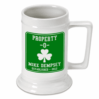 Property O Shamrock Beer Stein - Discontinued