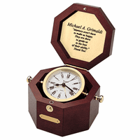 Quartermaster Maritime Home & Office Clock by Bulova - Discontinued