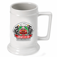 Racing Pit Stop German Beer Stein - Discontinued