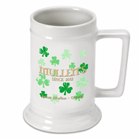 Raining Clovers German Beer Stein- Discontinued