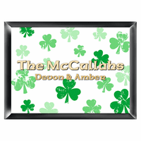 Raining Clovers Irish Family Sign - Free Personalization