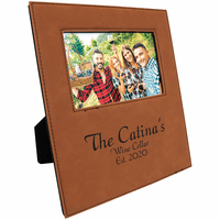 "Rawhide 4"" x 6"" Picture Frame with Large Personalization Area"