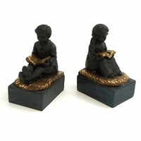 Reading Boy & Girl Bookends - Discontinued