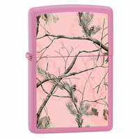 RealTree APG Pink Matte Zippo Lighter - ID# 28078 - Discontinued