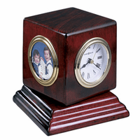 Reuben Desktop Clock by Howard Miller