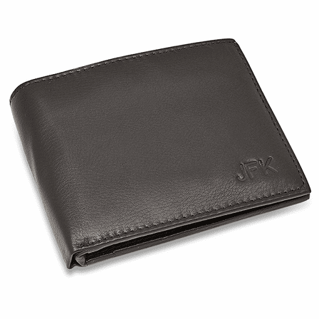 RFID Blocking Bifold Wallet With Secret Compartment
