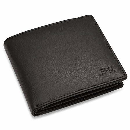 RFID Collection Bifold Credit Card Wallet With Center ID Flap