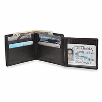 RFID Collection Bifold Wallet With ID Flap