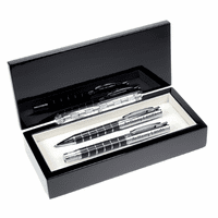 Ring Design Ballpoint Pen & Rollerball Pen Set