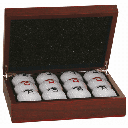 Roman Monogram Golf Ball Case