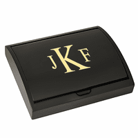 Roman Monogram   Pen and Card Case Gift Set - Free Personalization