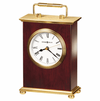 Rosewood Bracket Carriage Clock by Howard Miller
