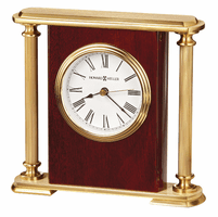 Rosewood Encore Bracket Table Clock by Howard Miller
