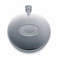 Round Flask with Silver Accent by Dalvey