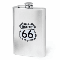 Route 66 8 Ounce Flask - Discontinued