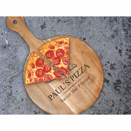 "Savor The Flavor 12"" Pizza Paddle - Discontinued"