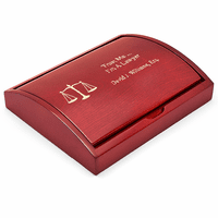 Scales of Justice Lawyer's Pen & Pencil Gift Set