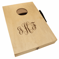 Script Monogram  Mini Cornhole Game