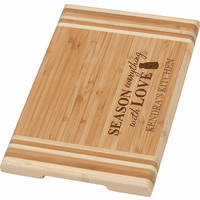 Season Everything With Love Personalized Cutting Board