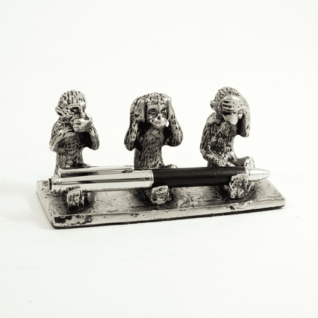 See No Evil Pen Stand
