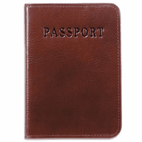 Sienna Collection Passport Cover by Jack Georges