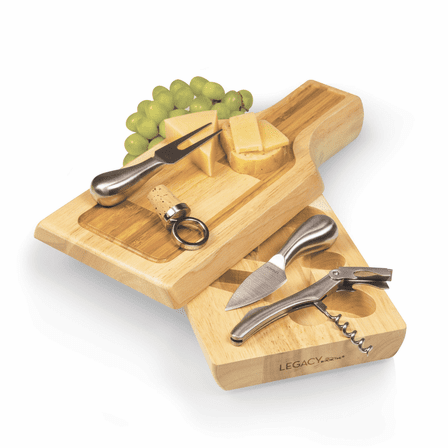 Silhouette Wine And Cheese Cutting Board - Discontinued