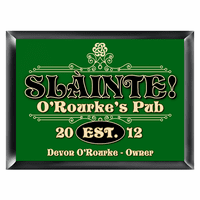 Slainte Pub Sign - Free Personalization