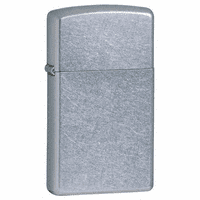 Slim Street Chrome Personalized Zippo Lighter - Discontinued