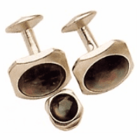 Smoked Pearl Cufflinks - Discontinued