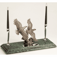 Soaring Eagles Personalized Desktop Pen Stand