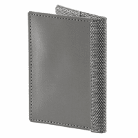 Soft Bifold Stainless Steel Card Case