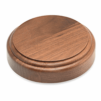 Solid Maple Wood Sounding Board for Gavel