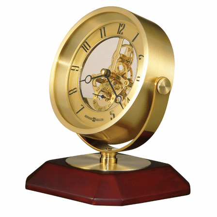 Soloman Pivoting Table Clock by Howard Miller