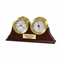 South Harbor Weather & Maritime Clock by Howard Miller - Discontinued